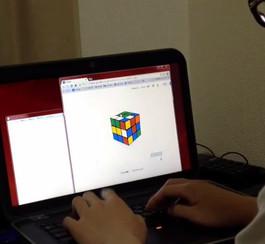 Rubik's Cube de Google: résolvez-le en 10 secondes avec LsllddrBurDLRFddLu!