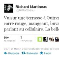 Richardmartineau.ca: Richard Martineau bombardé de tweets