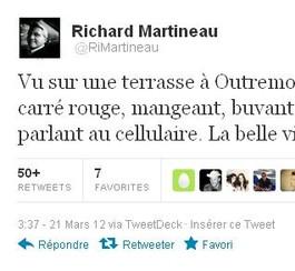 Richardmartineau.ca: Richard Martineau bombardé de tweets
