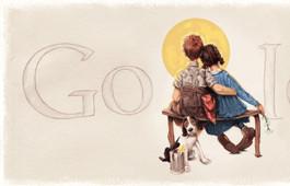Google dédie un logo en l'honneur de Norman Rockwell
