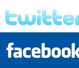 La mention de Twitter et Facebook interdite dans les médias français