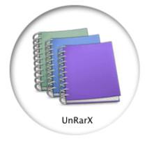 Comment décompresser et ouvrir des fichiers .RAR sur Mac OS X avec UnRarX?