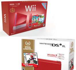 Anniversaire des jeux de Mario: la Wii rouge et DSi vendues en Amérique!